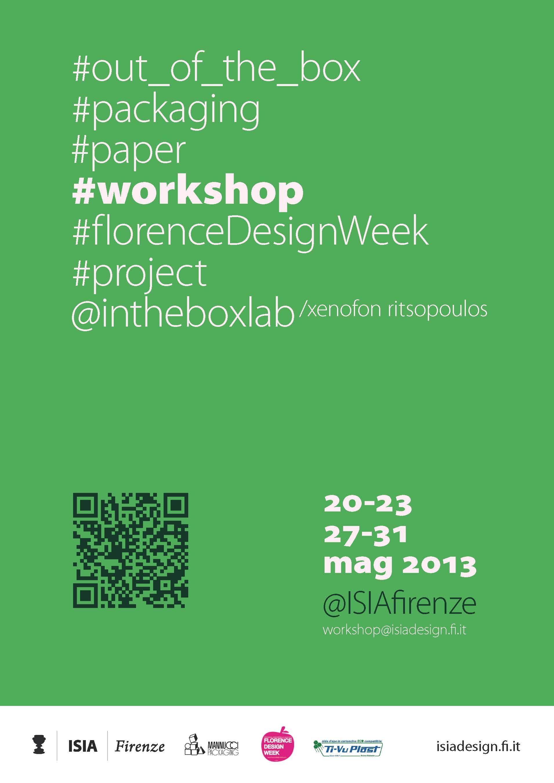 Dal 20 al 23 maggio 2013 inthebox lab for Arredi ecosostenibili